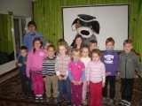 Saugaus eismo popietė su bendruomenės Pareigūne Renata Gustaitiene ir vaikų draugu Ams