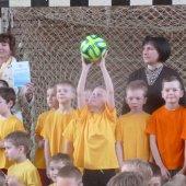 Futbolo varžybose II-oji vieta